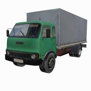 3d transportation truck model