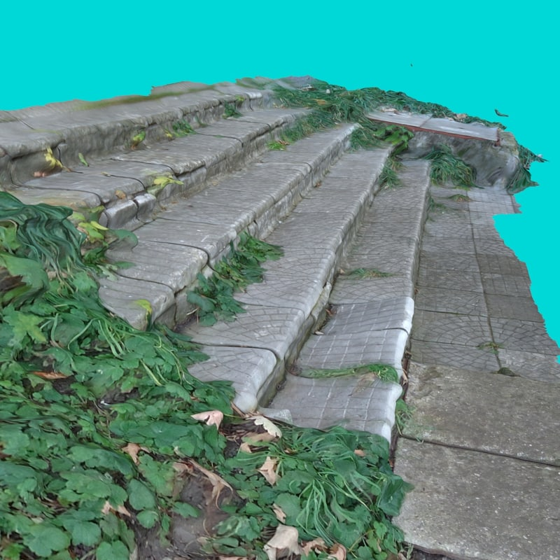 3d model stairs 5