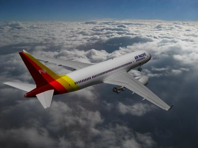 airline boeing 787-8 787 3d max