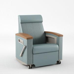 3d nemschoff consoul recliner