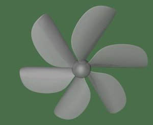 3d model of propeller xml dae