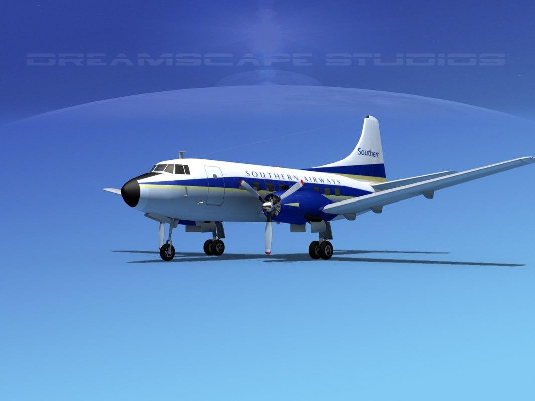 3d model propellers martin 404