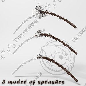 splash 3d model