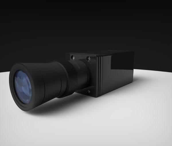 3d cctv camera lens
