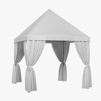 3ds max partytent tent