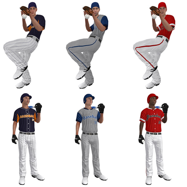 pack baseball players ball max