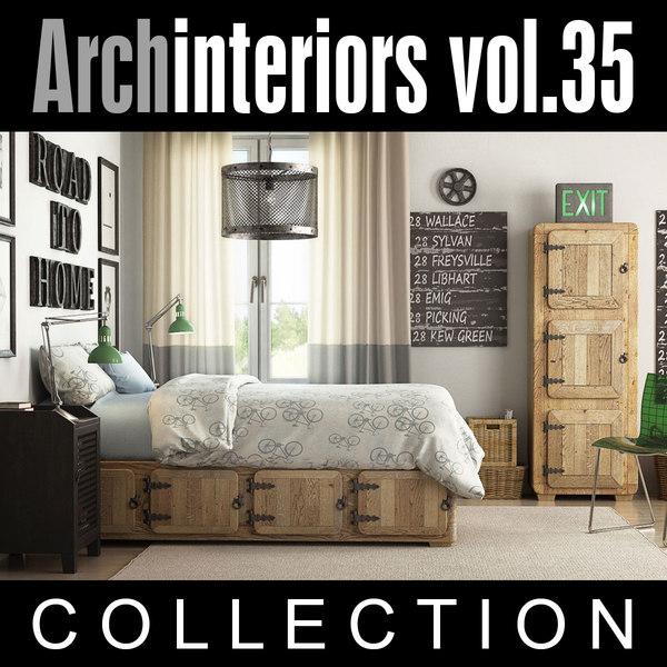 archinteriors interior scenes max