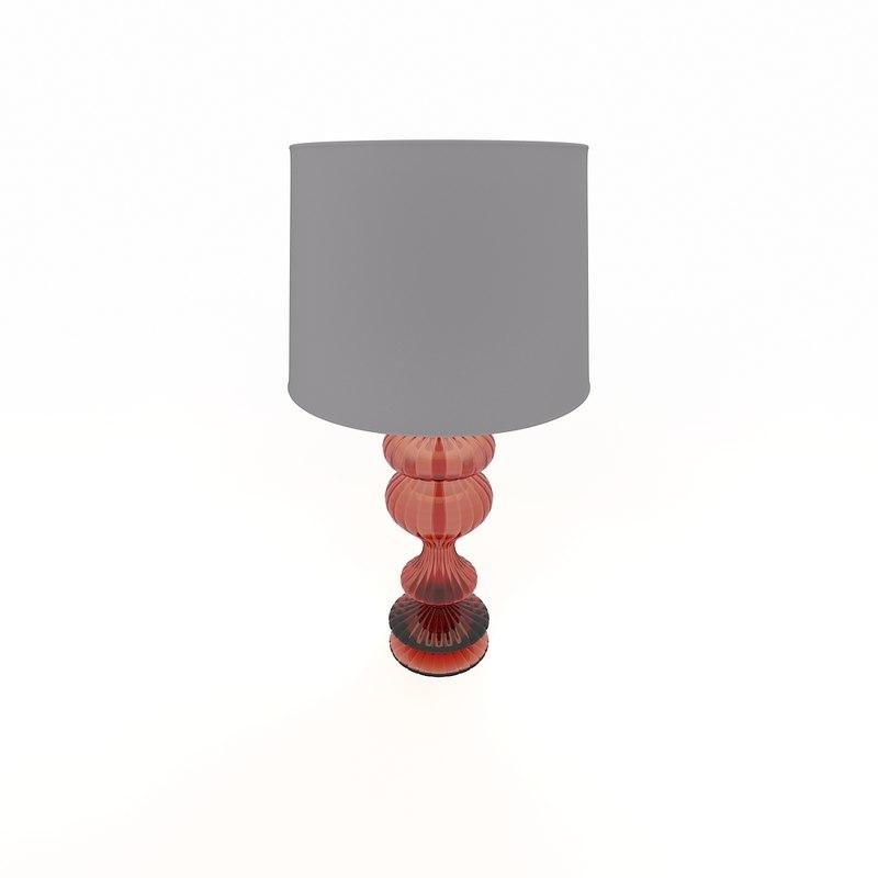 modern lamp 3d model
