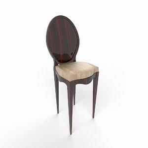 3ds max modern stool