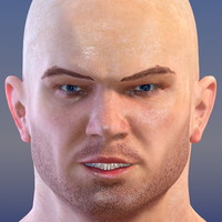 3d athletic male model