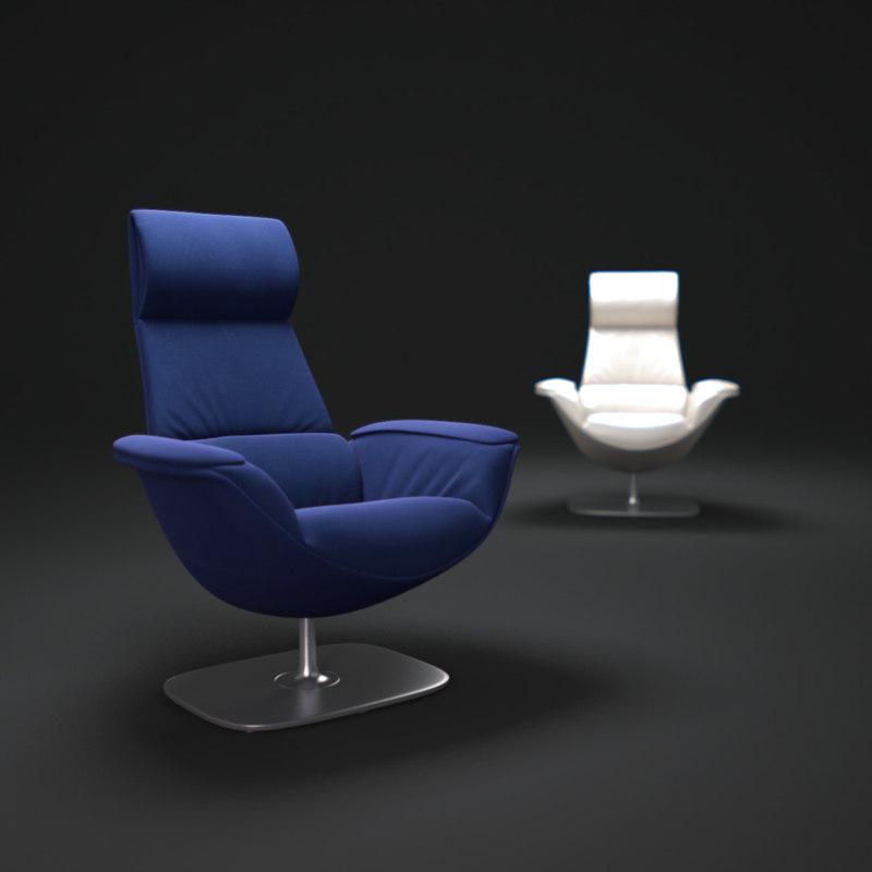 3ds max massaud-lounge-chair