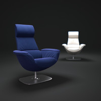 3ds max massaud-lounge-chair