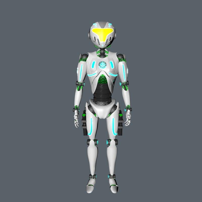 robot c4d