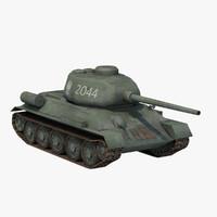 3d t-34 85 poland