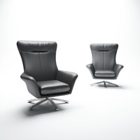 3ds max nueva-nicolaus-leather-chair