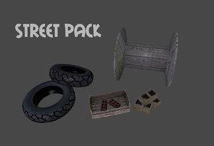 3d street pack
