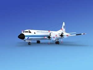 orion lockheed p-3 3d model
