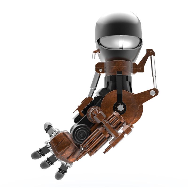 robot arm d