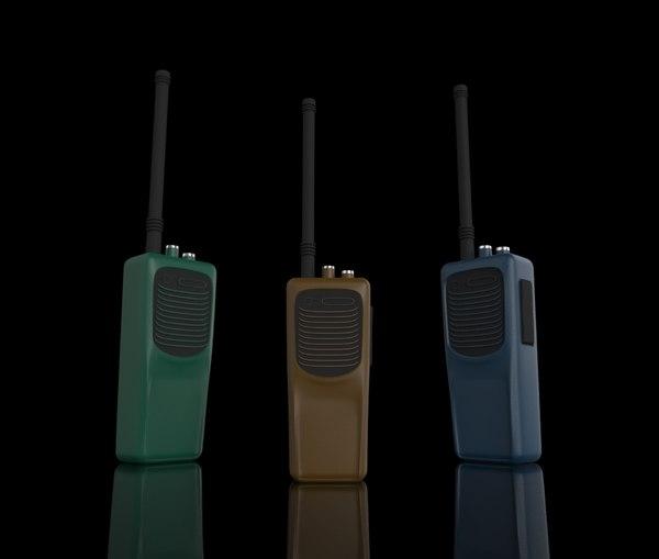 walkie-talkie obj
