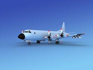 3d max orion lockheed p-3 navy