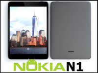 3d model nokia n1