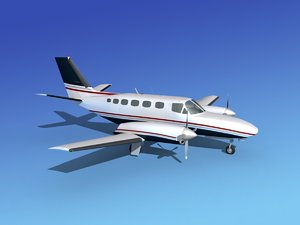 3ds propellers cessna 441 conquest