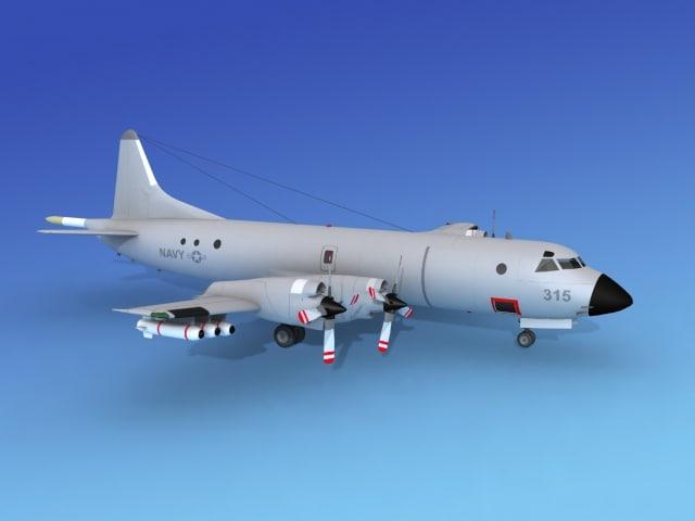orion lockheed p-3 navy obj