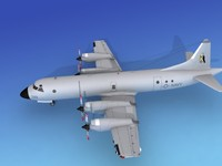 orion lockheed p-3 navy 3d lwo