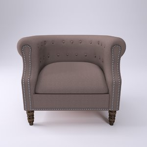 maya beddington parisian armchair