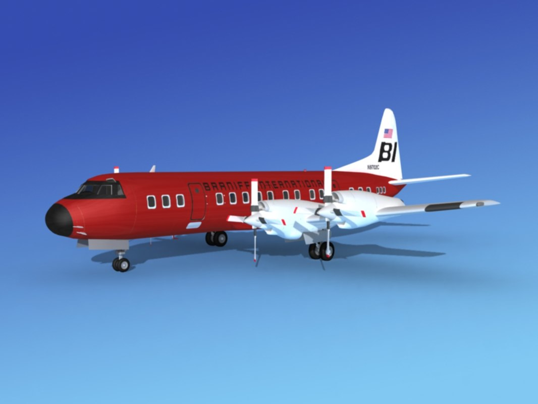 3d propellers l188 electra lockheed