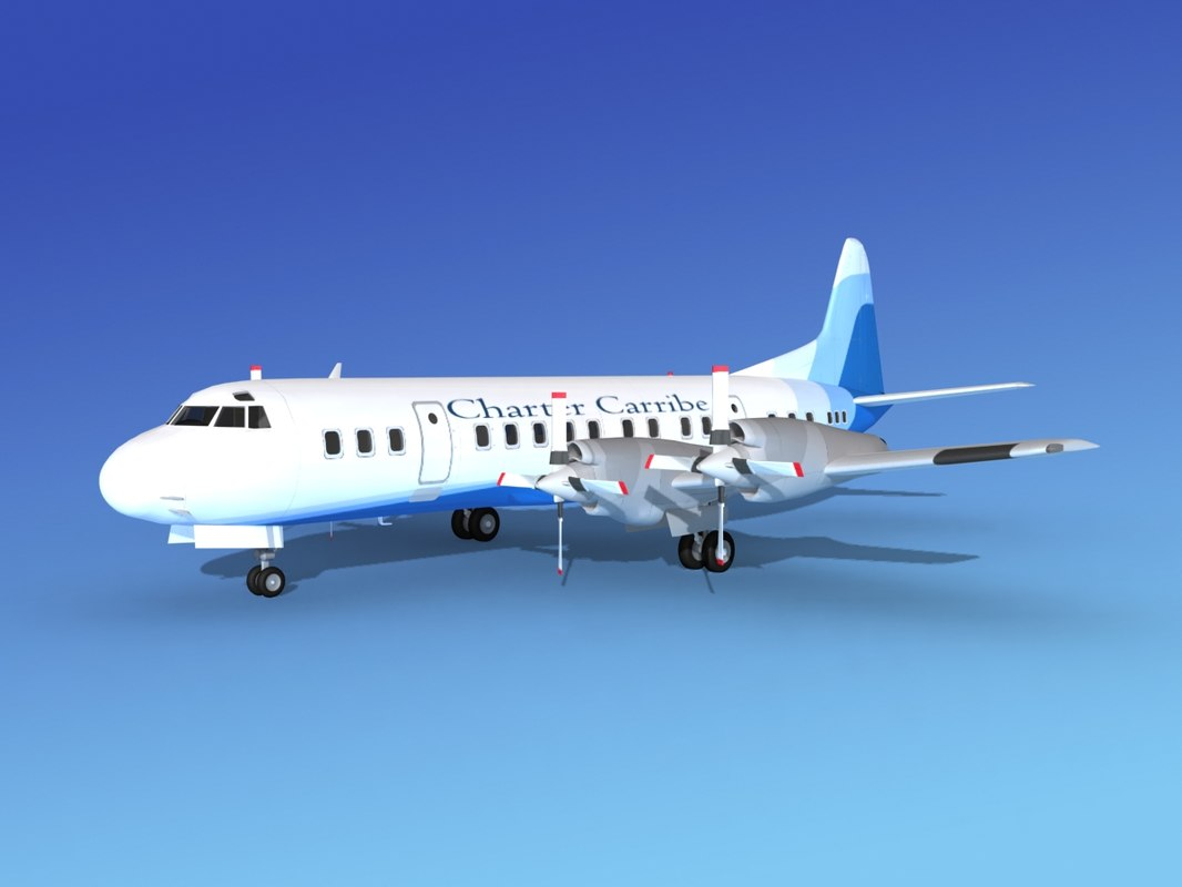 3d propellers electra lockheed charter