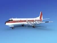 Lockheed L188 Electra II Corporate 12