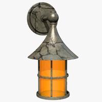 3d lantern model