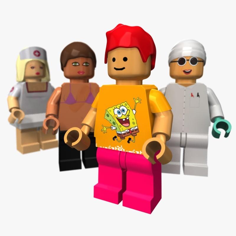 maya lego people