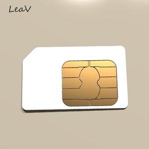 3d sim card model