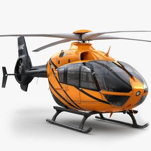 3d model eurocopter ec 135