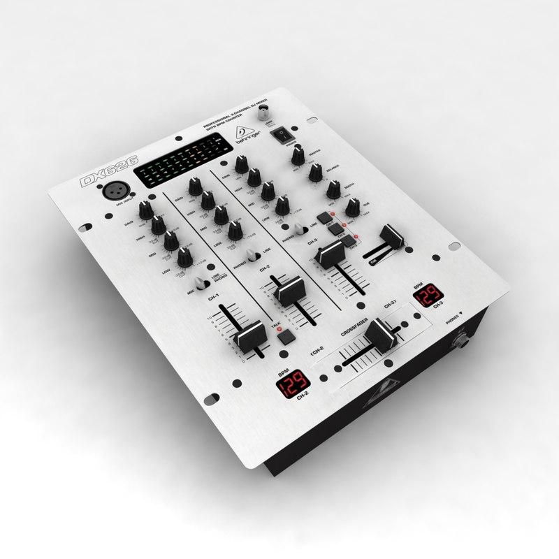 behringer pro mixer dx-626 3ds