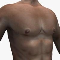 3d man body