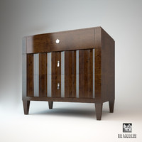 3d model selva chest drawers