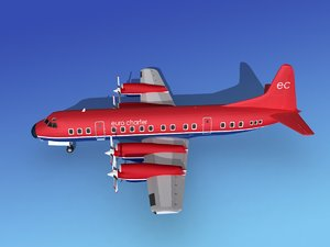 propellers electra lockheed charter 3d max