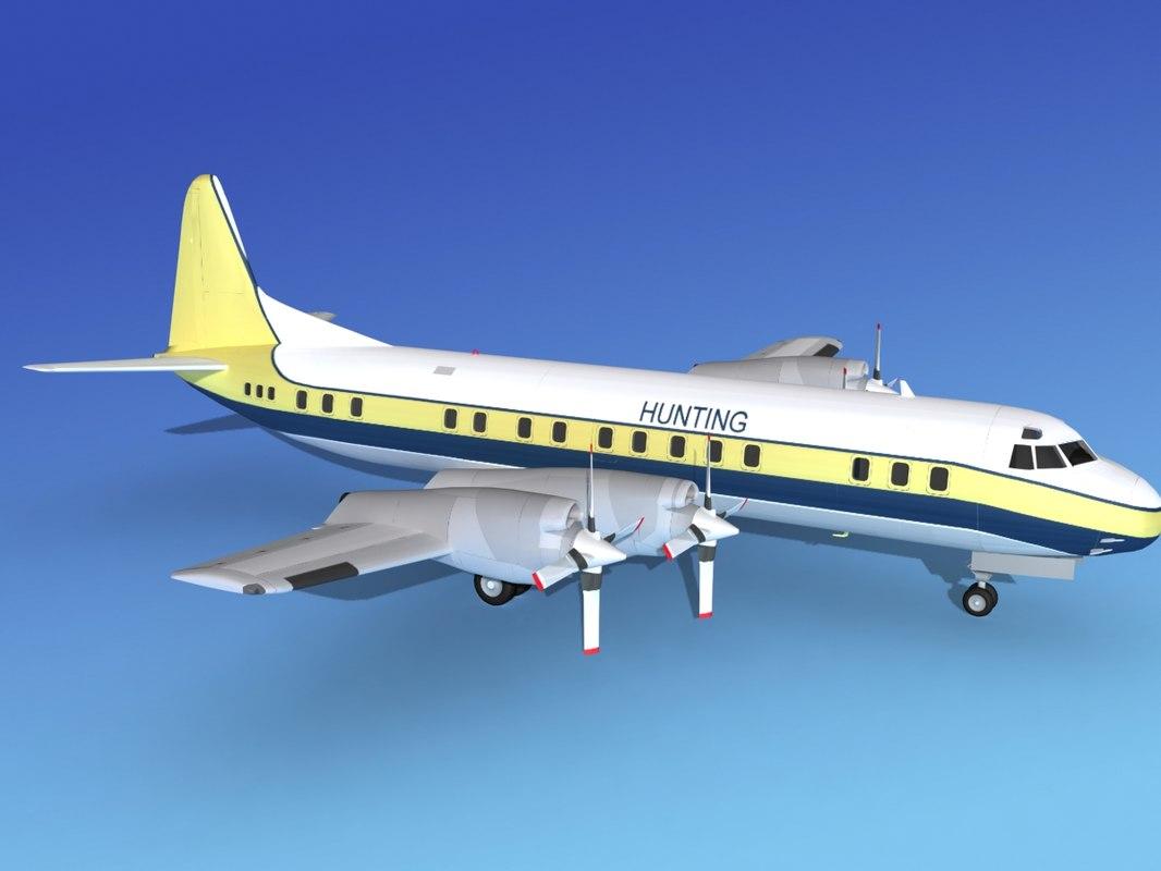 propellers electra lockheed cargo max