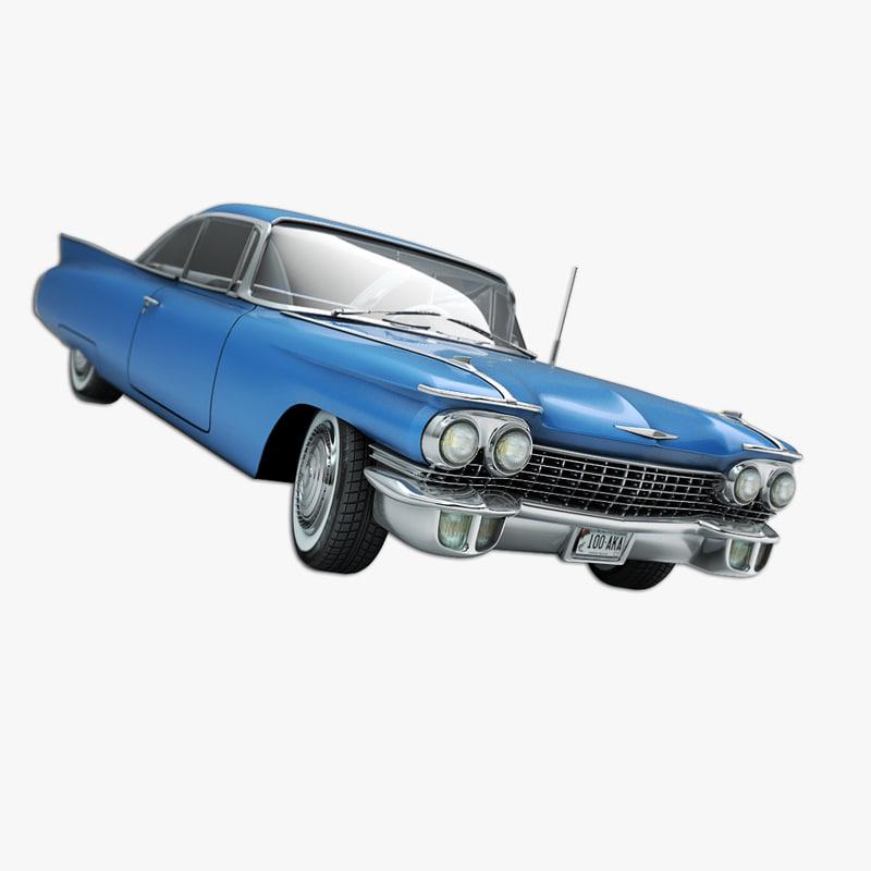 3ds max american car