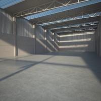 Empty Precast Facility
