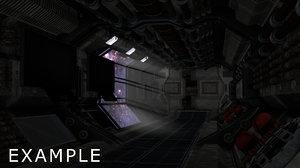 3ds max set space corridor