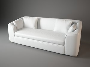 cove sofa barbara barry 3d model