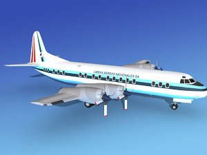 propellers electra lockheed 3d 3ds