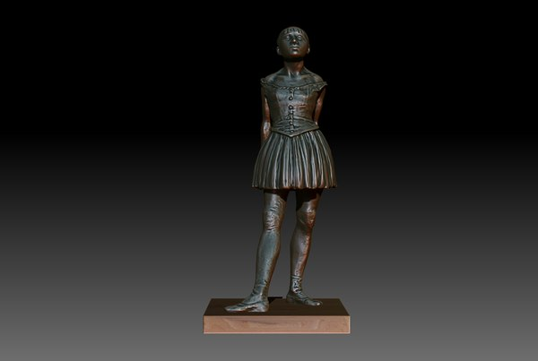 3d little degas model