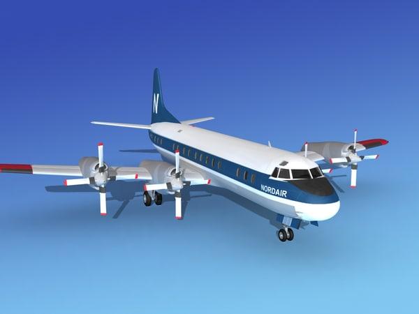 lwo propellers electra lockheed