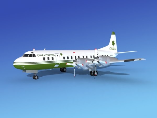 propellers electra lockheed charter 3d 3ds