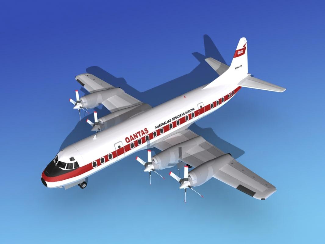 3d propellers electra lockheed model